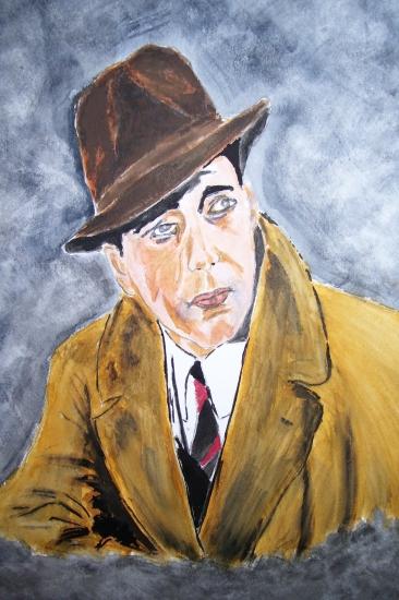 Humphrey Bogart by dabeechey